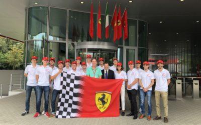 A unique visit to the Scuderia Ferrari